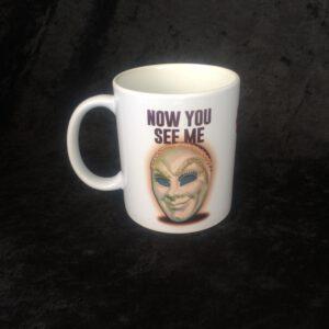 Flying Mask Mug